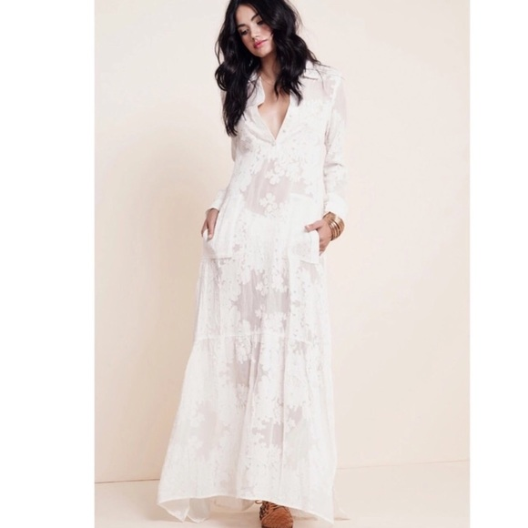 Dresses | Hpx25 Newwhite Boho Dress | Poshmark